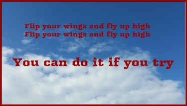 you can do it if you try