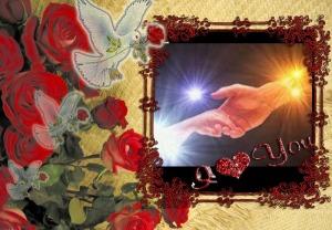 Gods hand voor mij aangepast