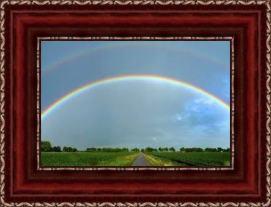 regenboog in lijst