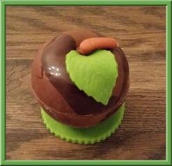 appel van chocolade