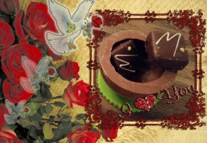twee chocolaatjes